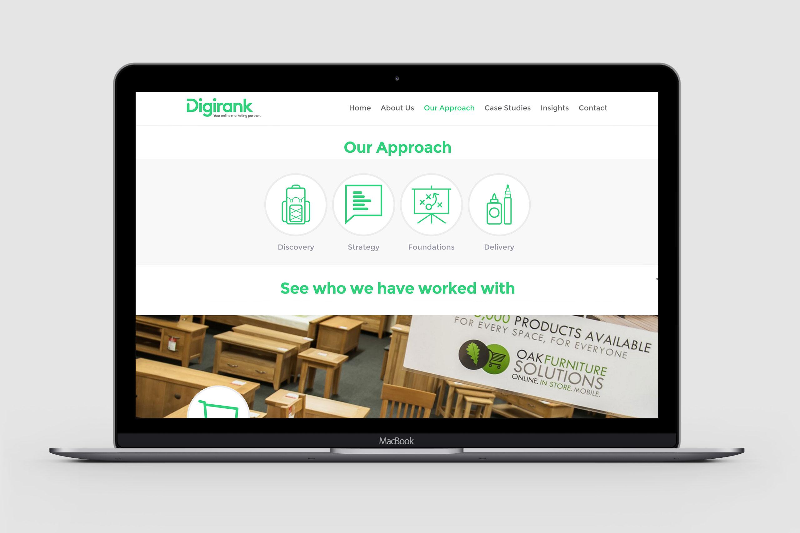 website design for bristol digirank