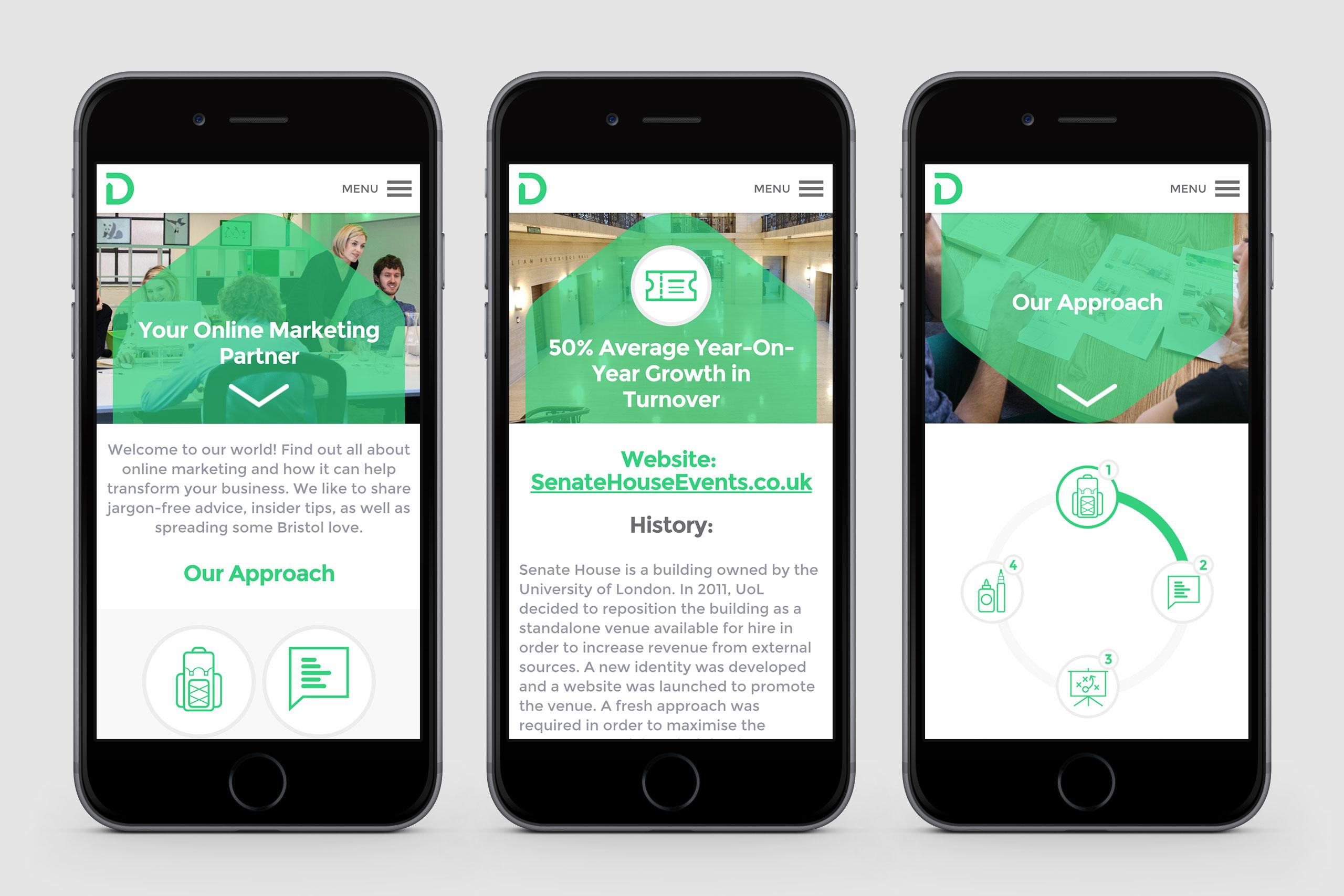 mobile design for digirank