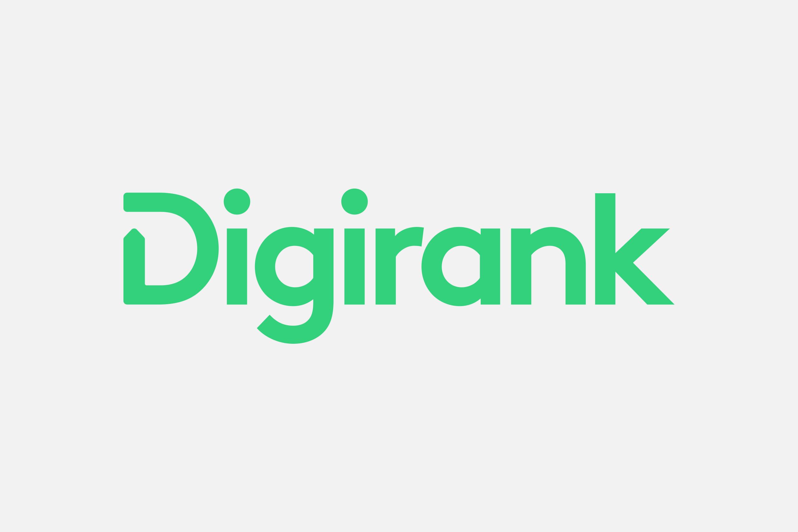 digirank logo on light grey background