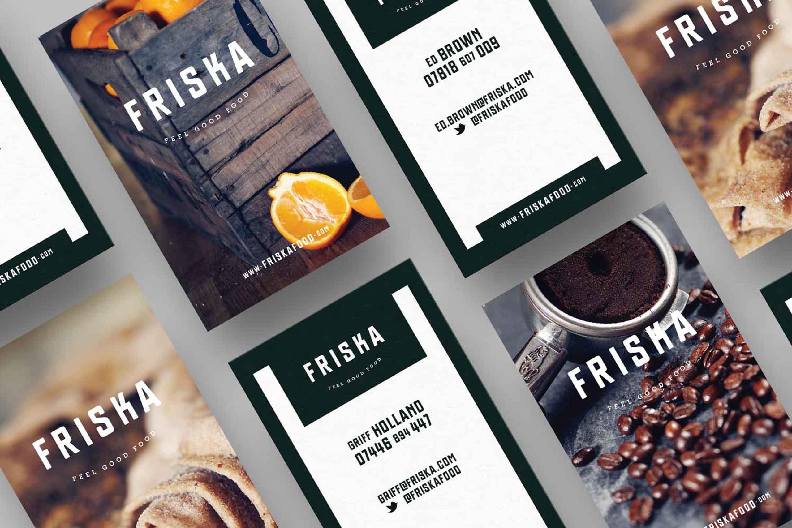 business cards for friska bristol