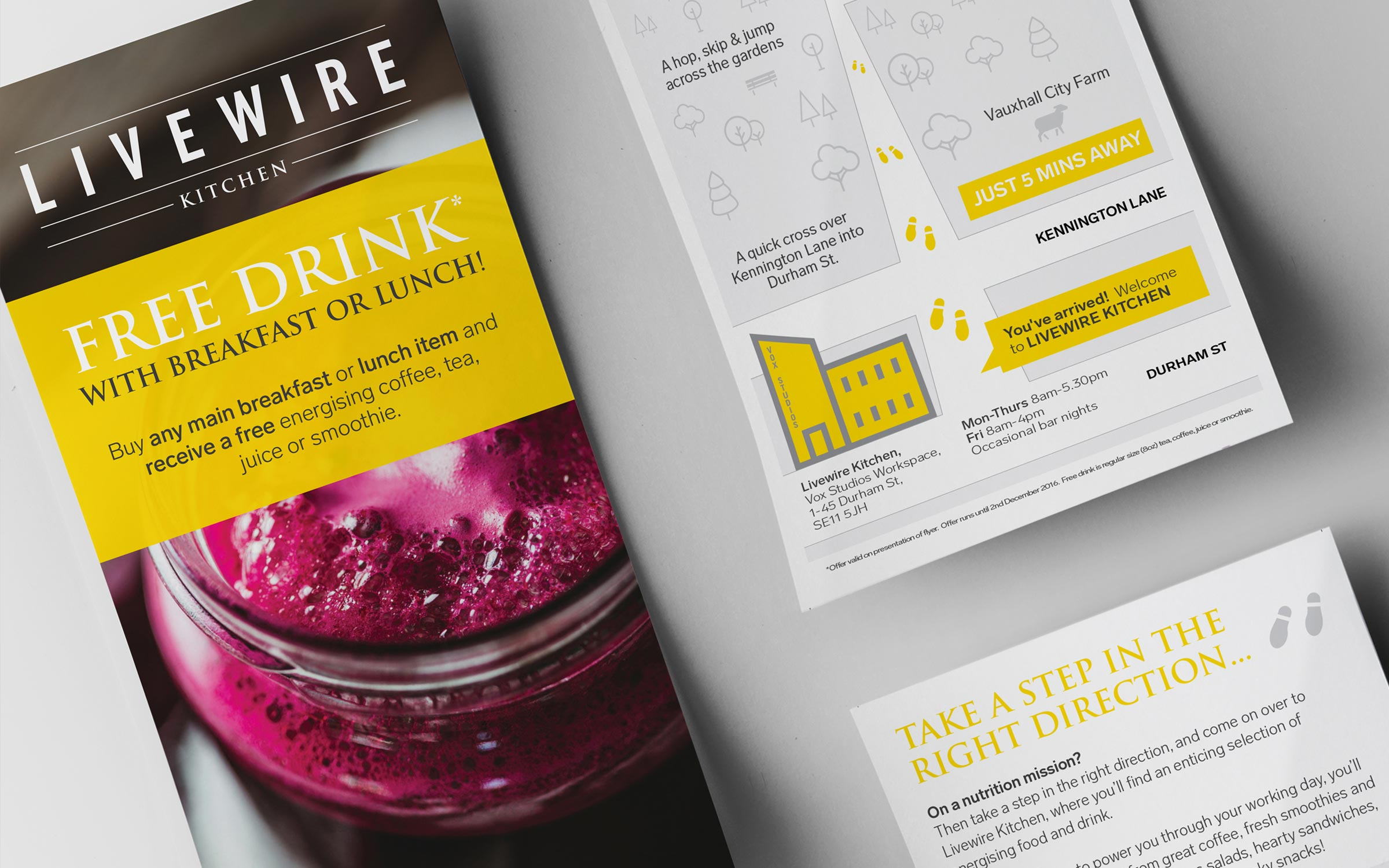 Print design for Livewire Kitchen