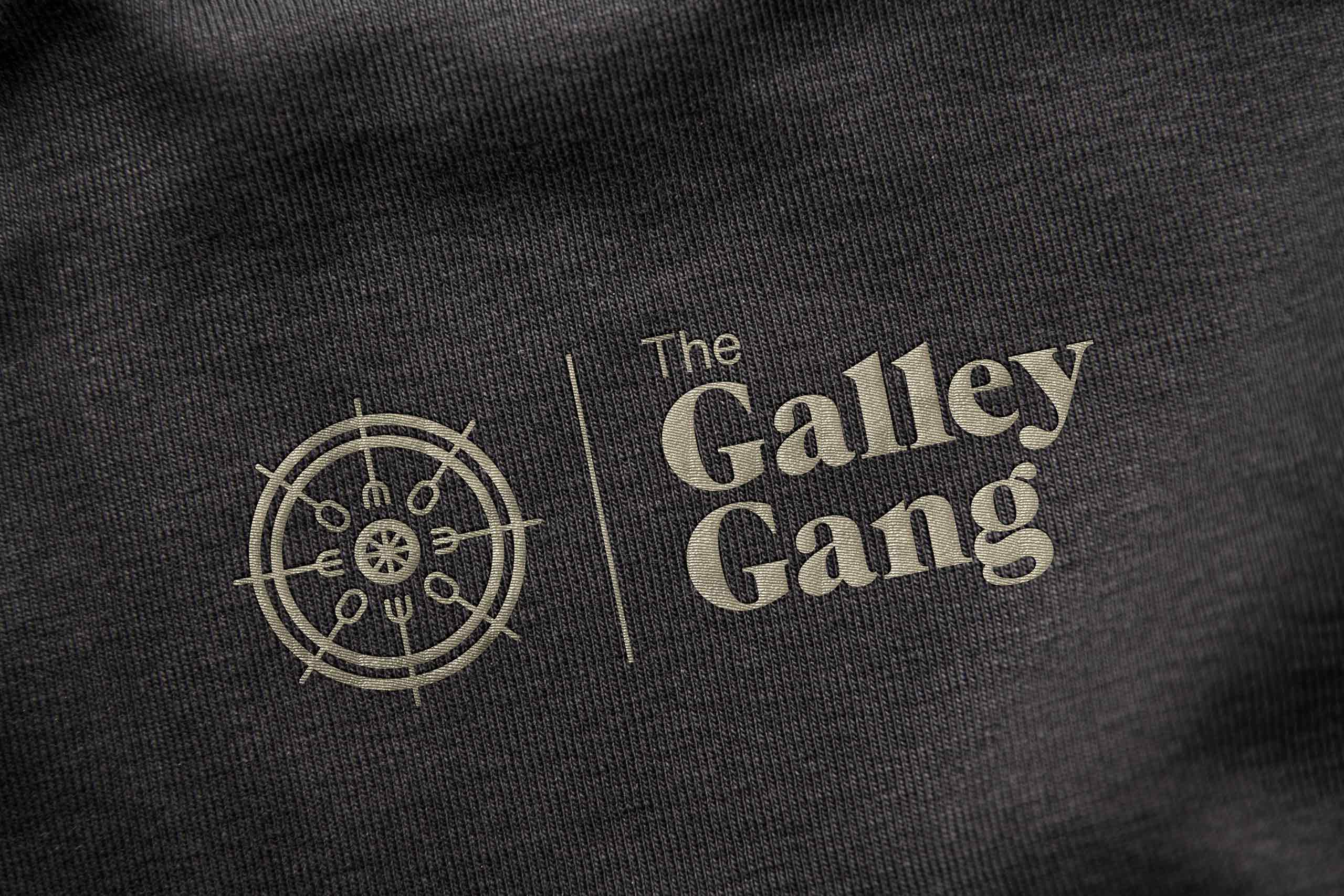 Logo design the galley gang
