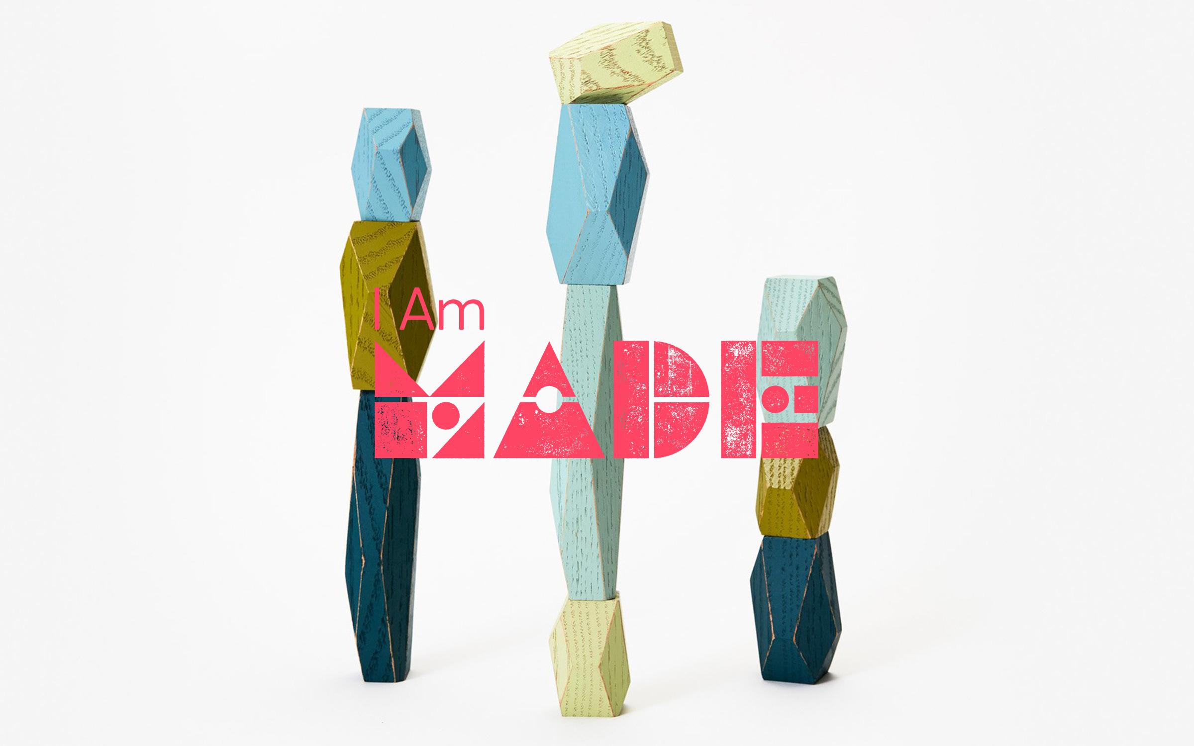 logo design for I Am made