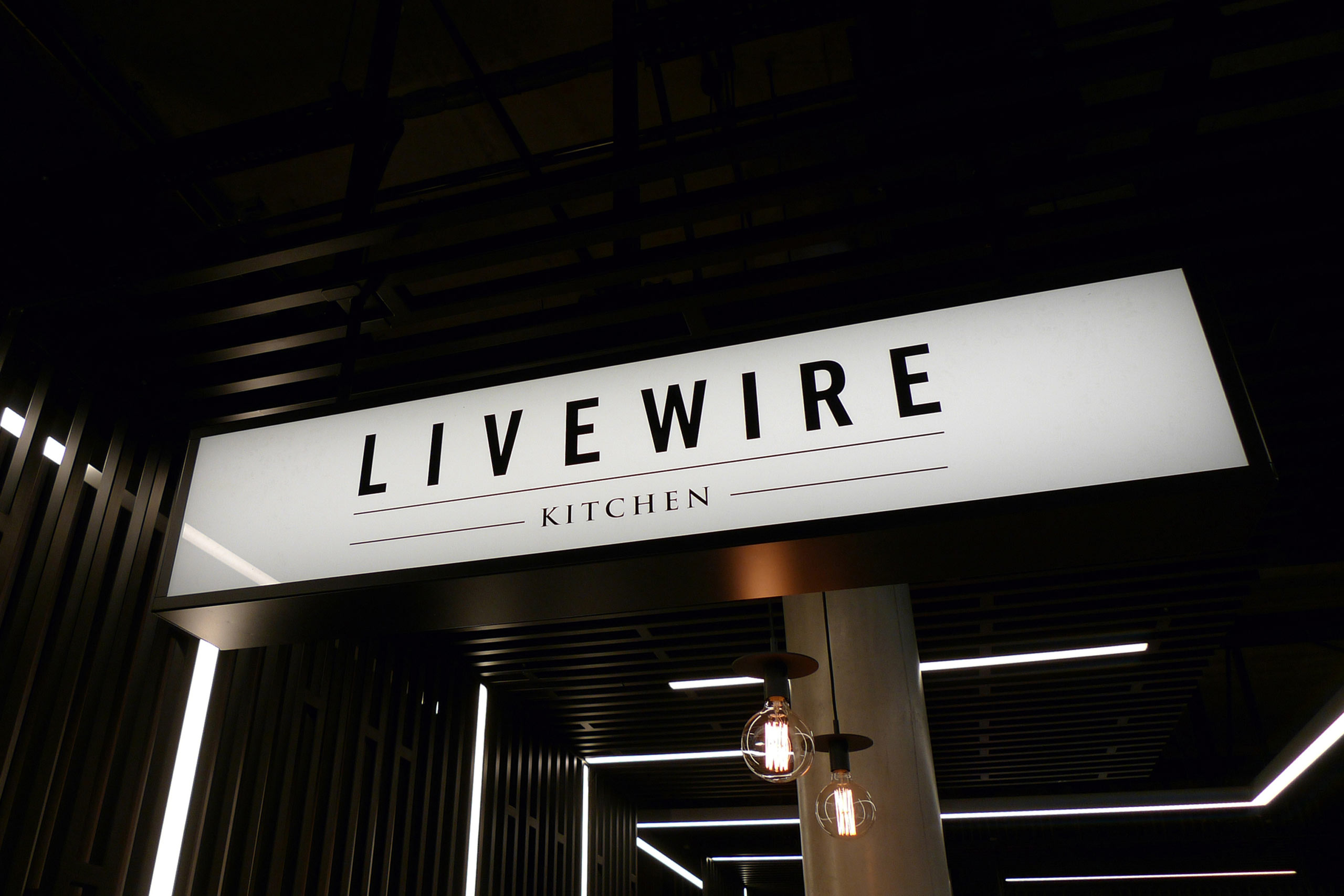 Lightbox design for livewire kitchen