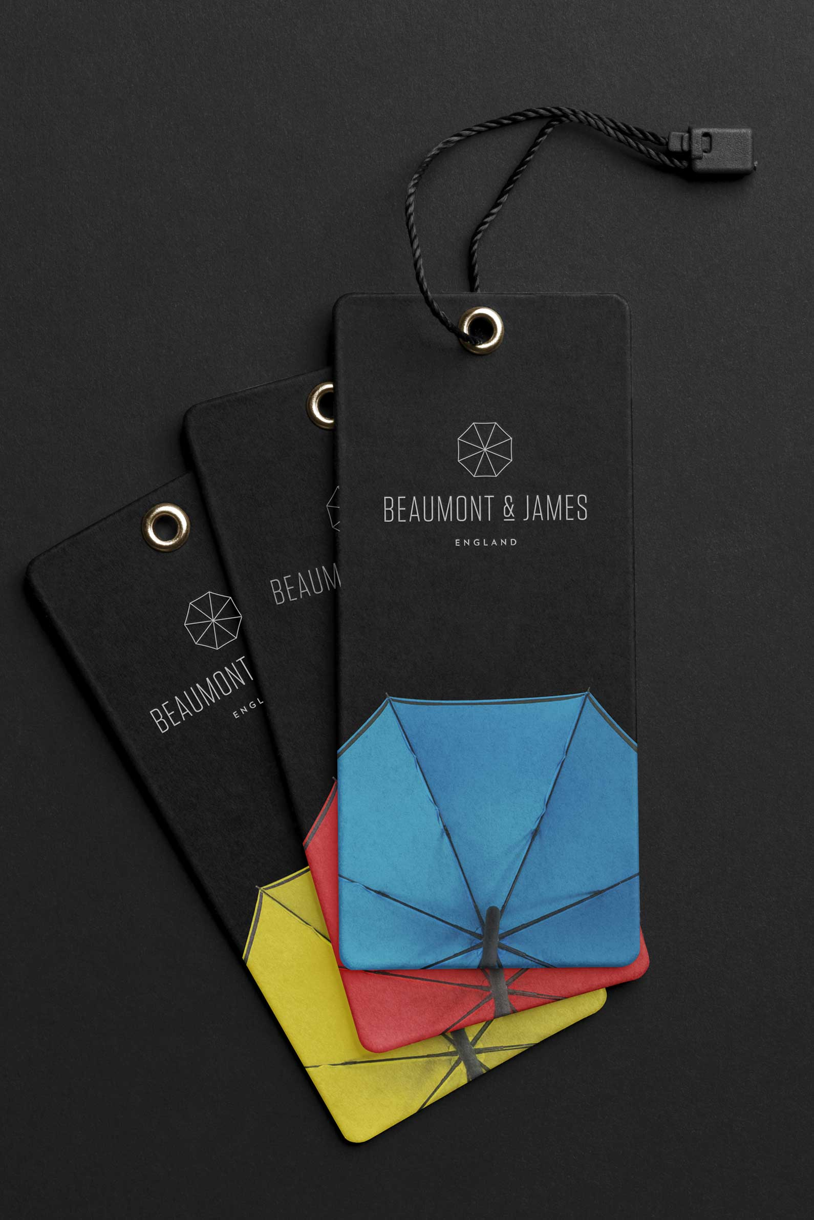 Fashion tags for beaumont and james
