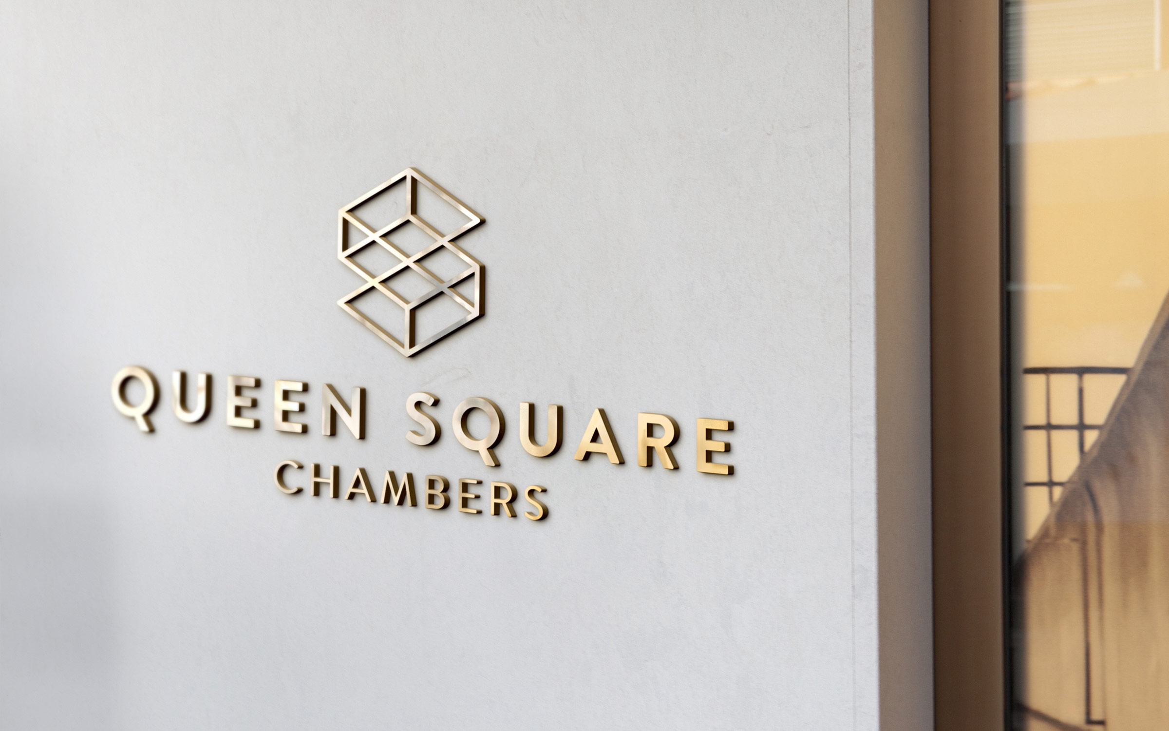 Signage for Queen Square Chambers