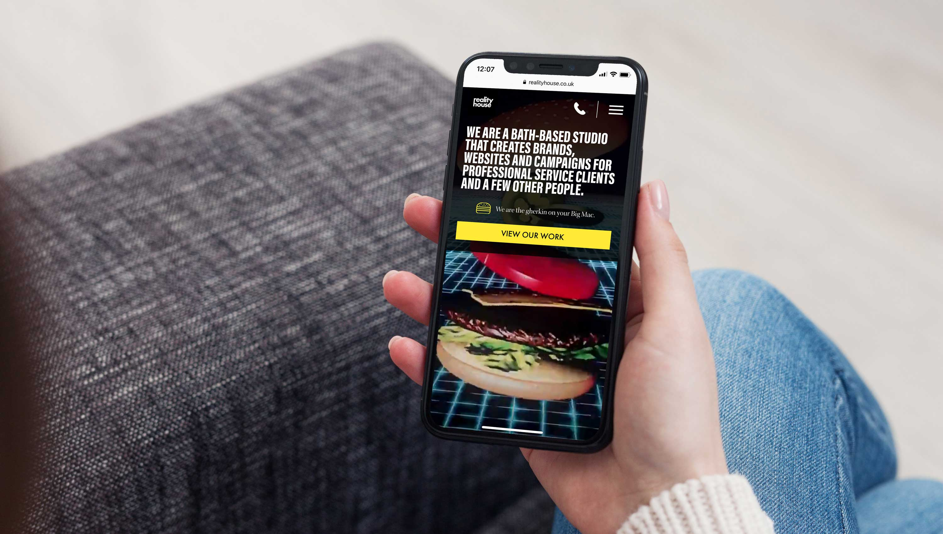 homepage design iphone realityhouse