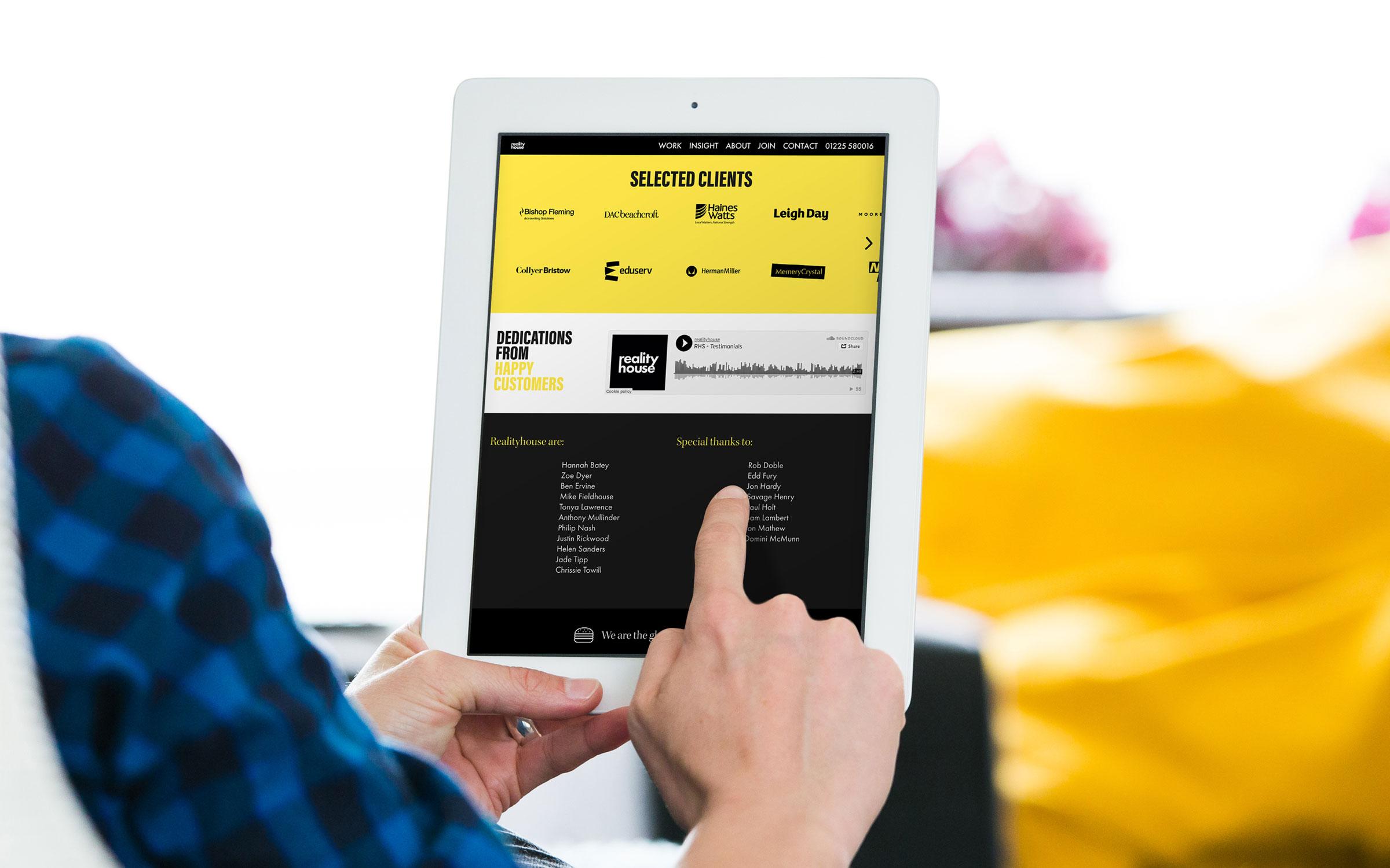responsive website design bath realityhouse