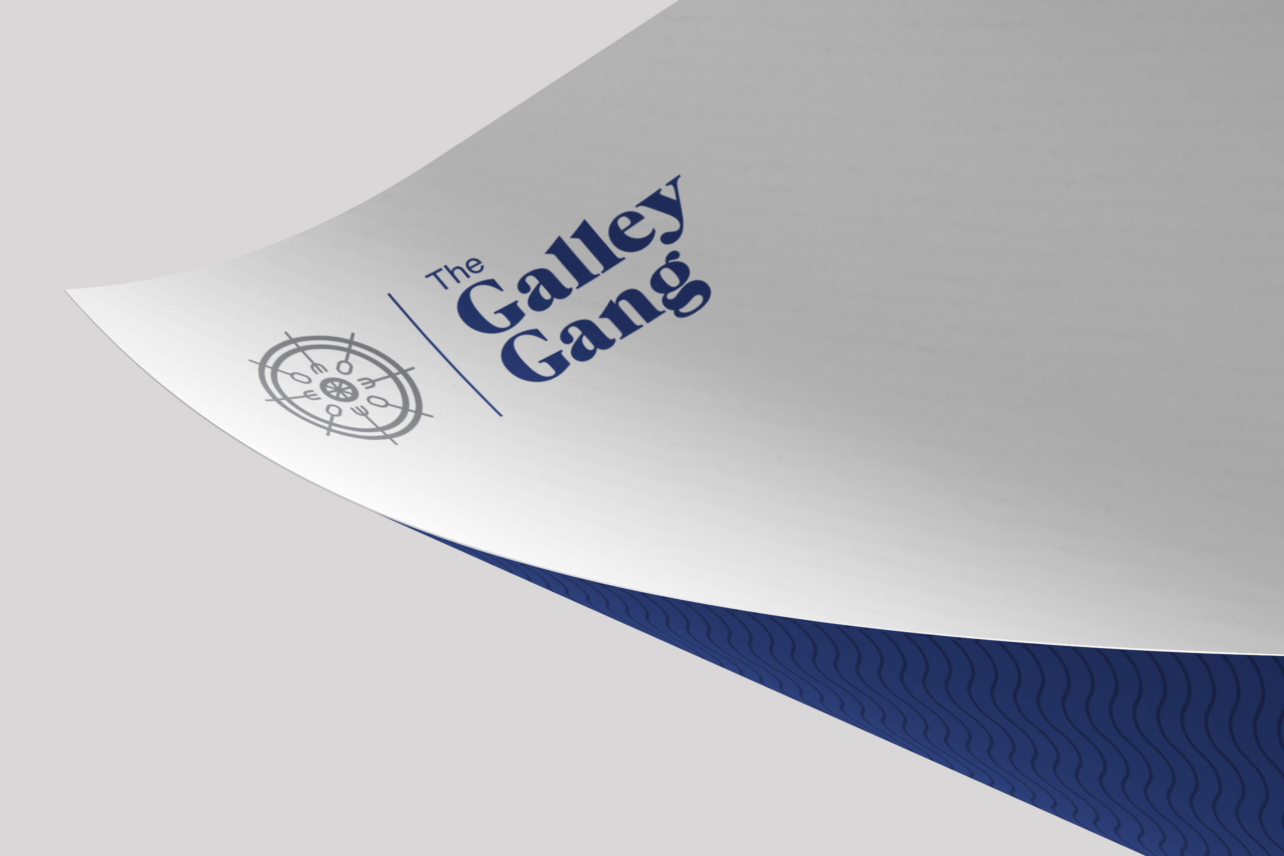letterhead design galley gang