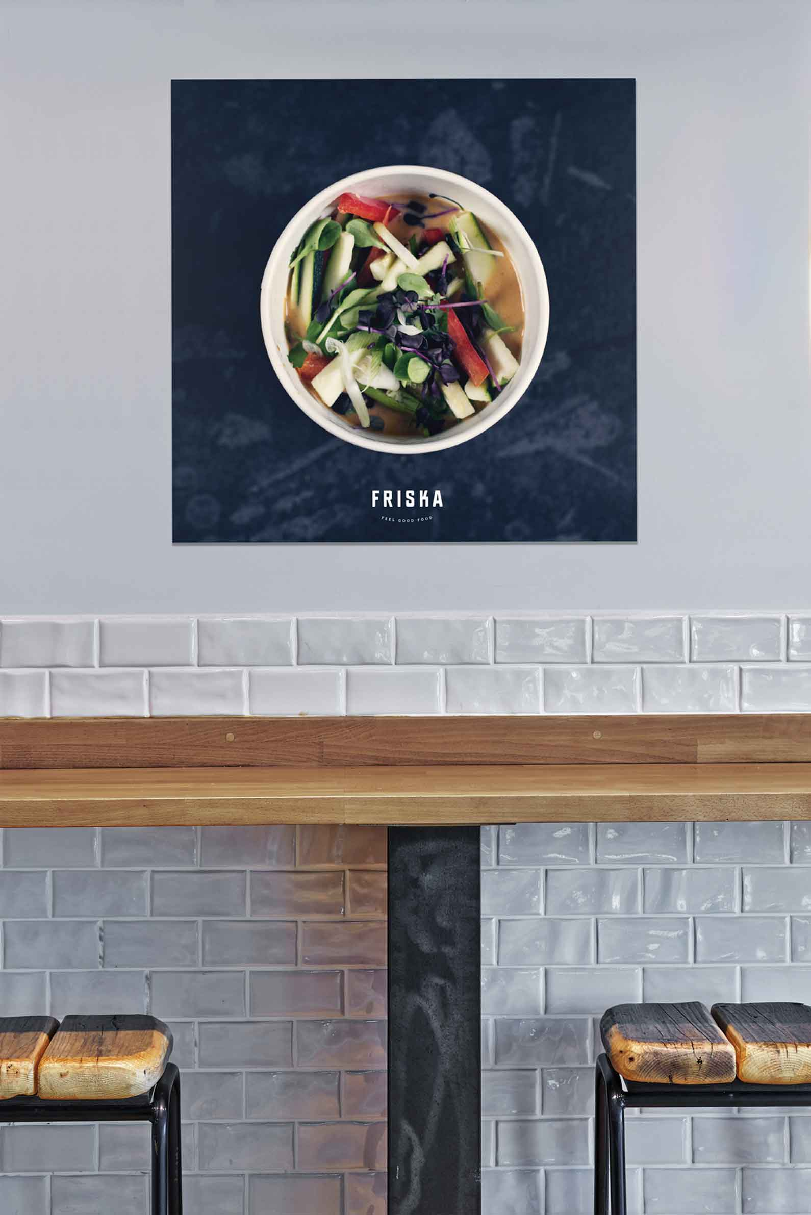 poster inside friska of soup