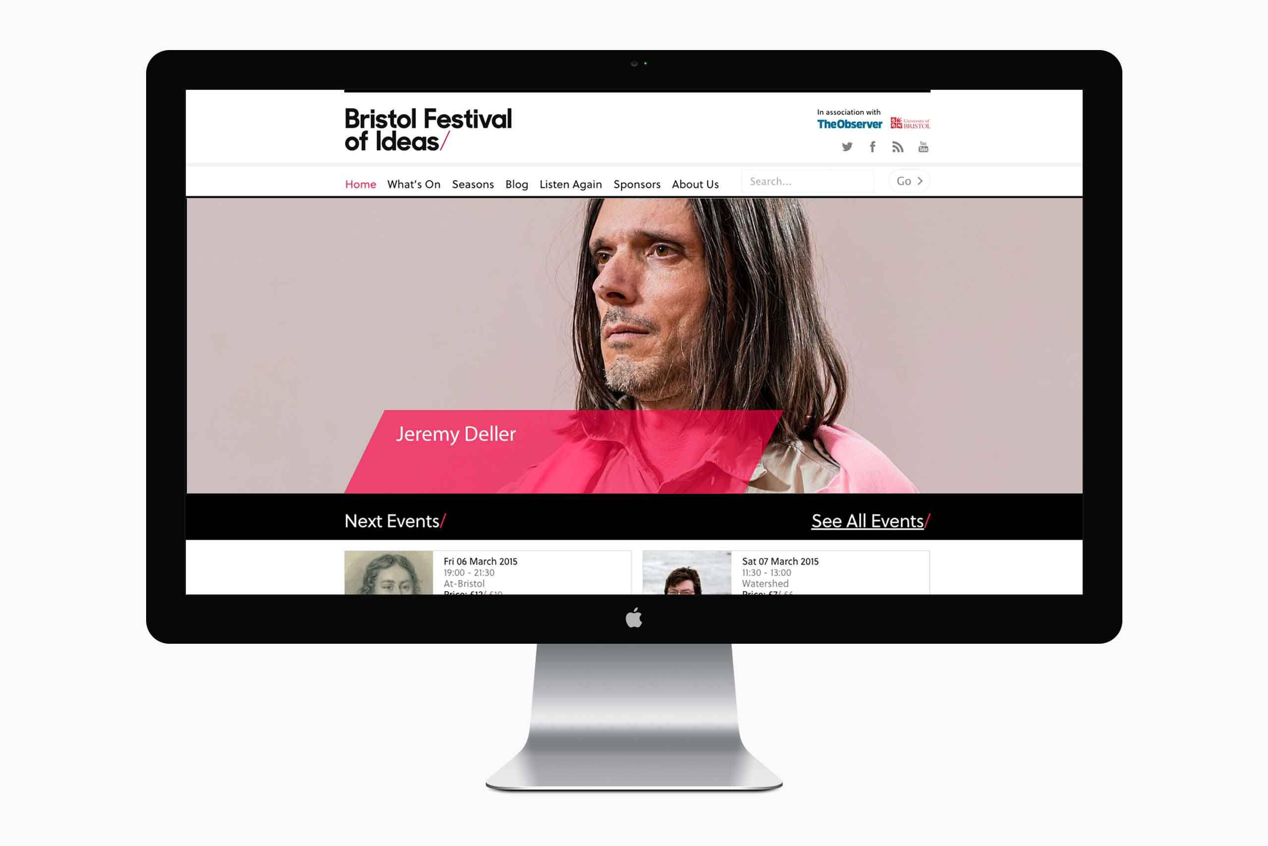 website design branding bristol festival