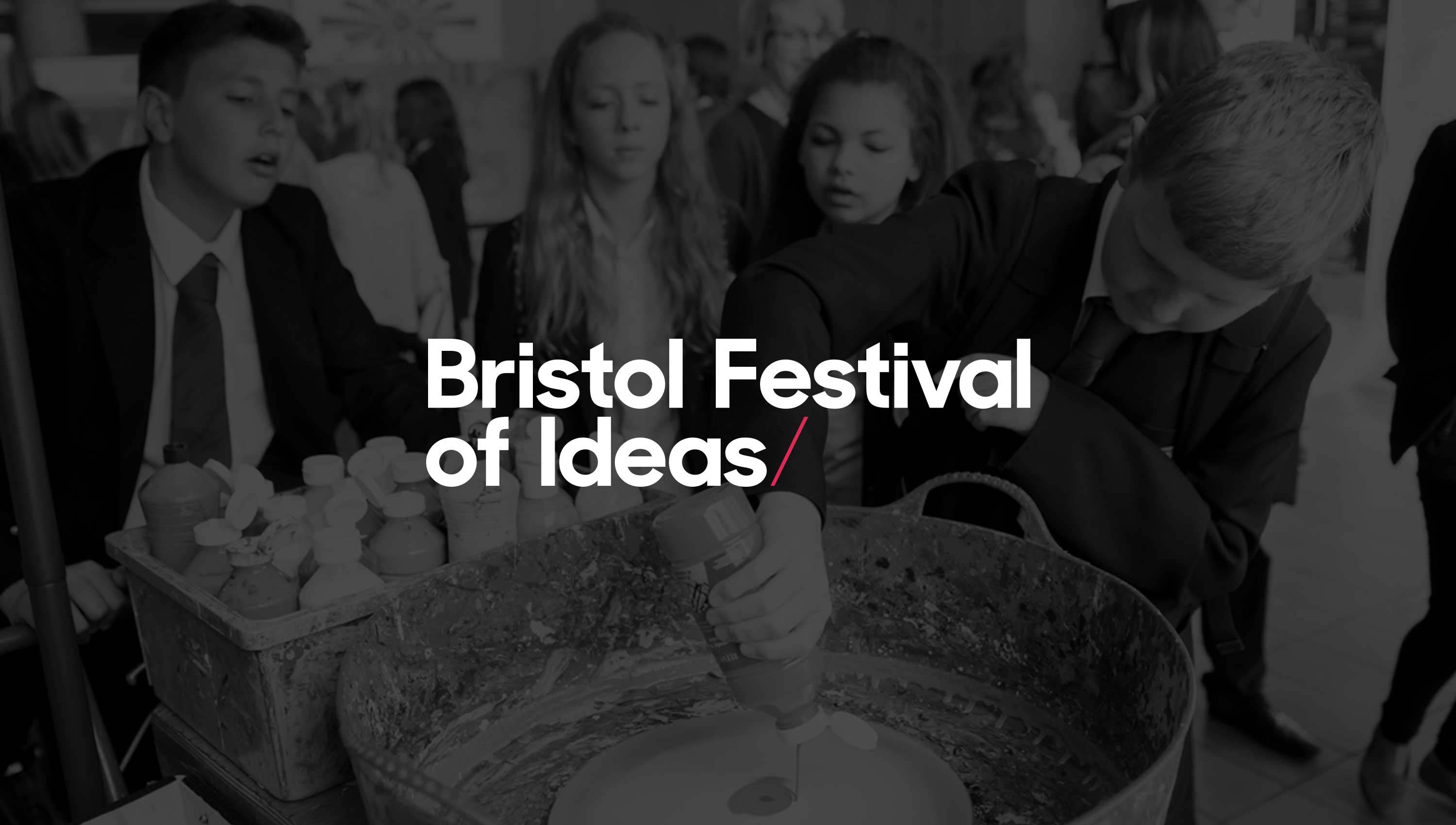 bristol festival of ideas brand design
