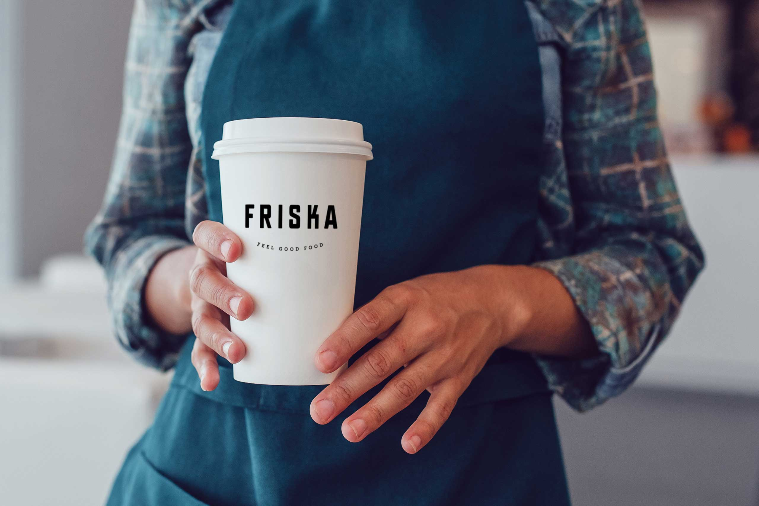 bristol branding for friska feel good food
