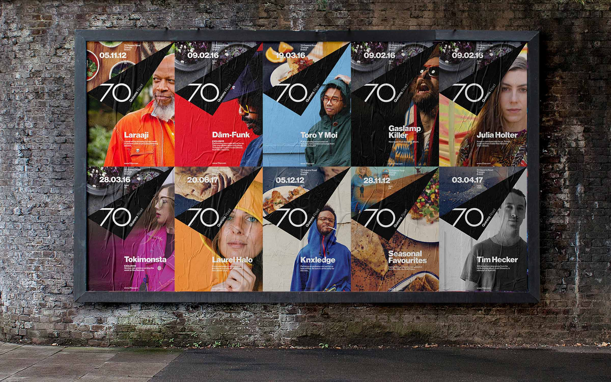 posters for 70 queens road