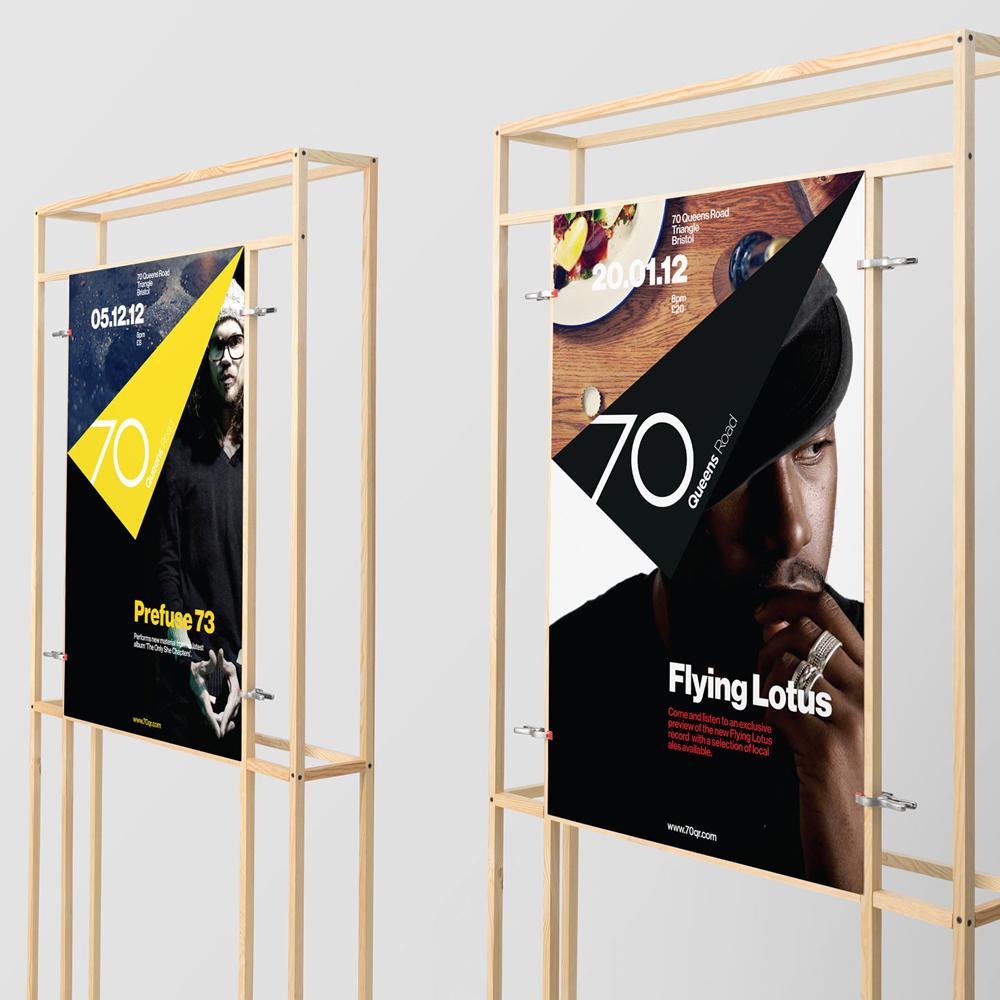 Poster design for bristol startup
