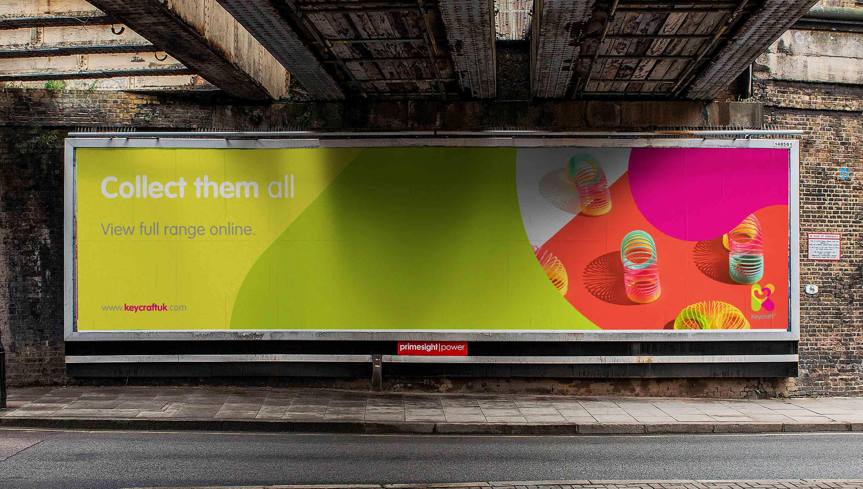 billboard for keycraft london