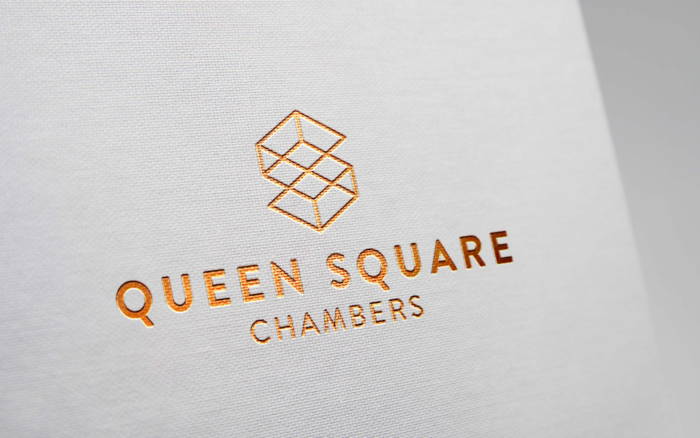 Foil logo design legal chambers