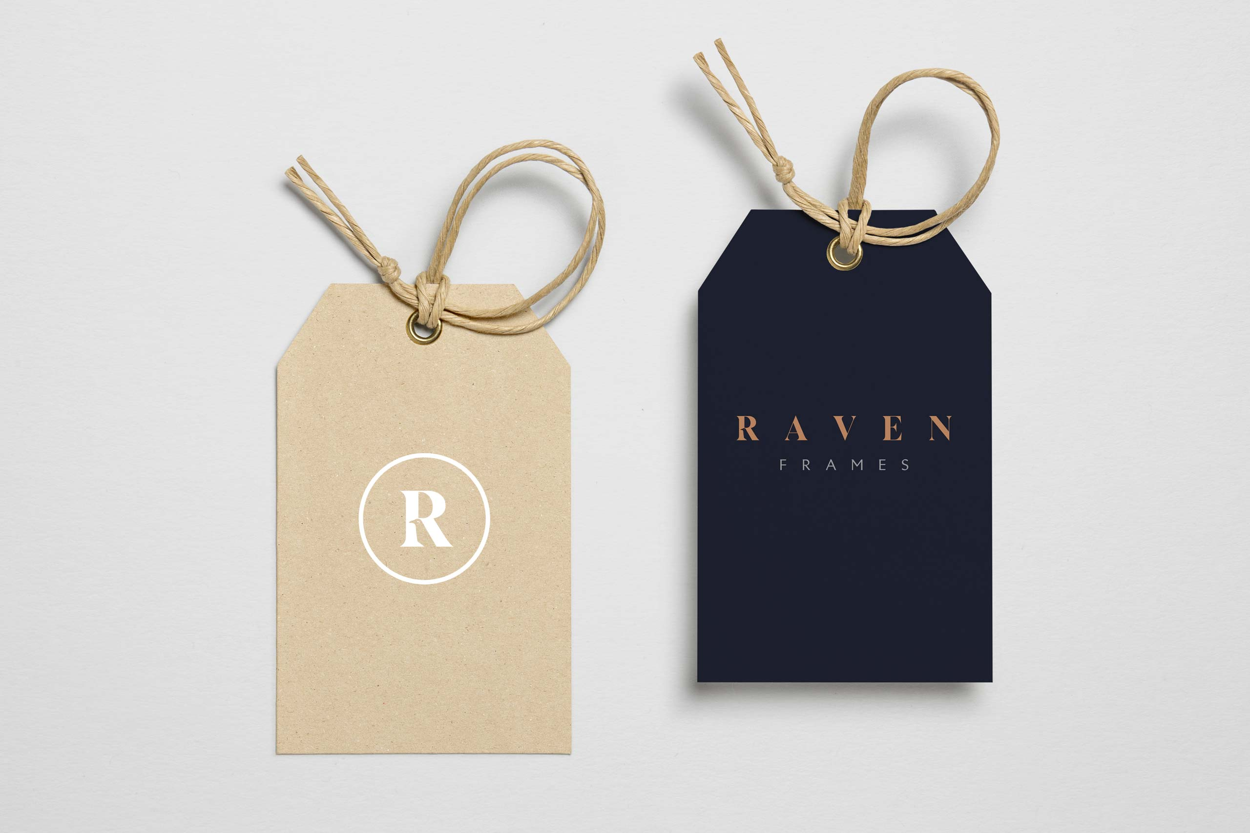 Tag graphics for raven frames