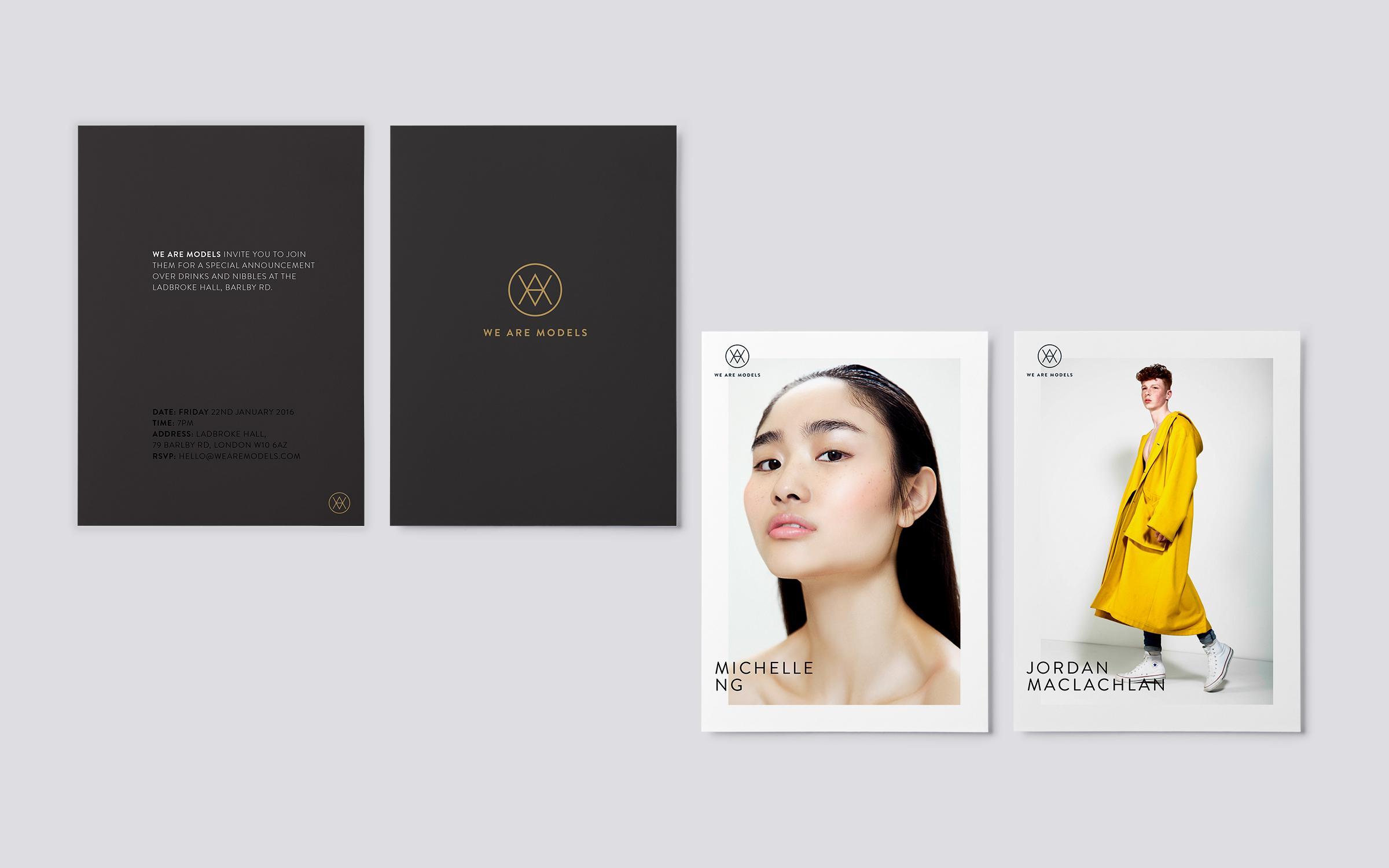 invitations for london fashion brand