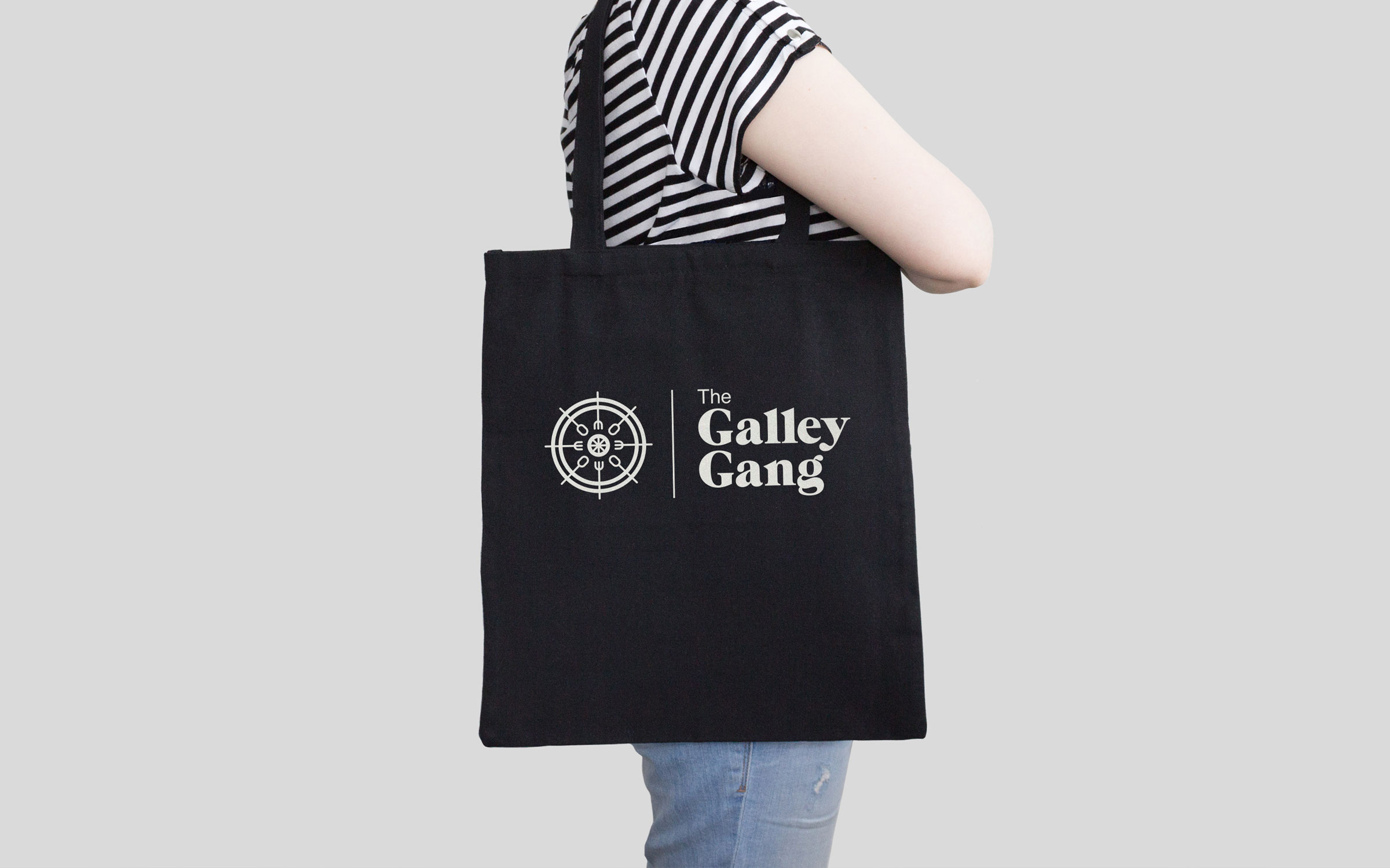 Tote design for Galley Gang